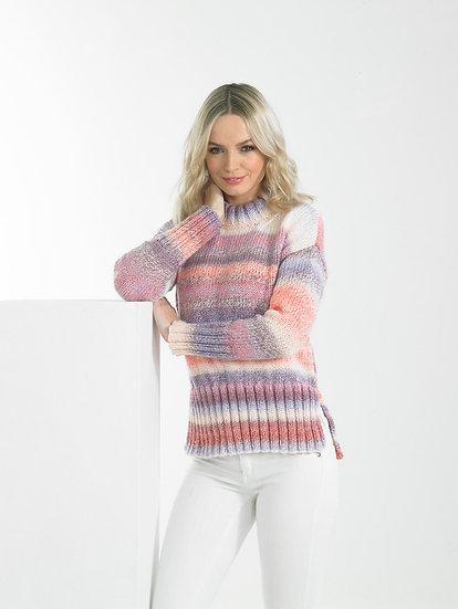 James C. Brett JB669 Long Sleeved Chunky Sweater Knitting Pattern