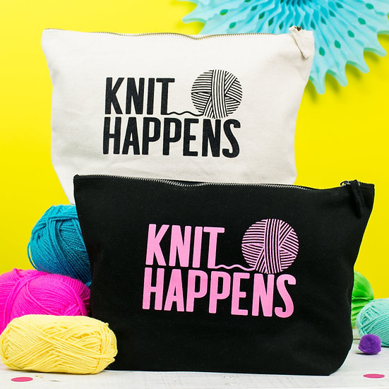 Knit Happens Project Bag