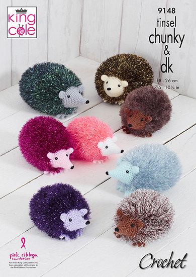 King Cole 9148 Crochet Hedgehog Pattern