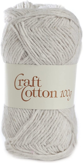 James C. Brett Craft Cotton Double Knit 100g