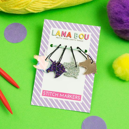 Magical Unicorn Stitch Markers