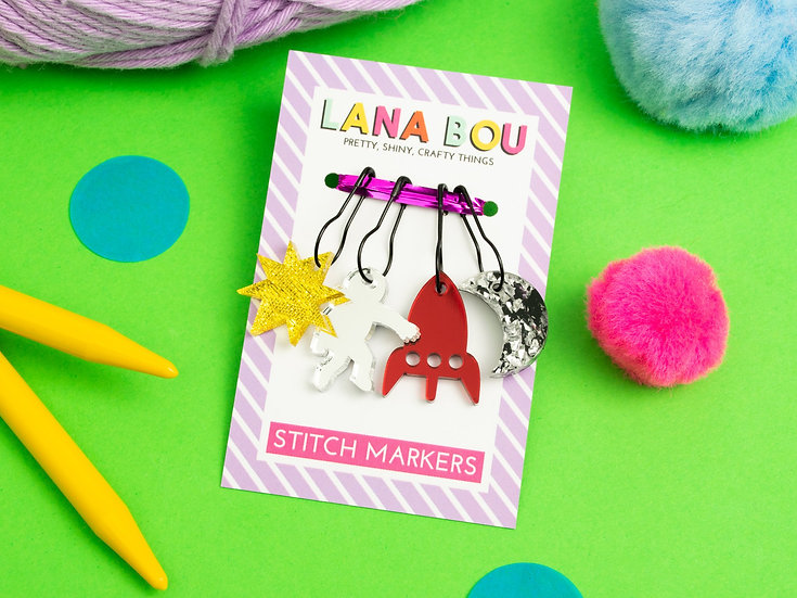 Out of This World Stitch Markers