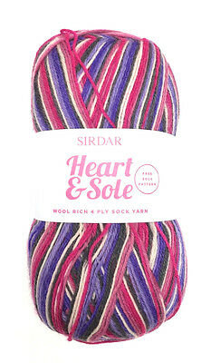 Sirdar Heart and Sole 4 Ply