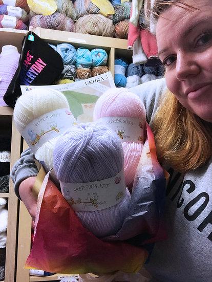 4 Ply Baby Knits Yarn Bouquet