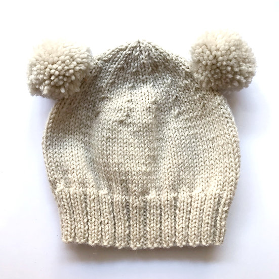 0 - 6 Months Fawn Baby Hat