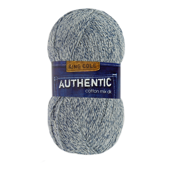 King Cole Authentic Cotton Mix Double Knit