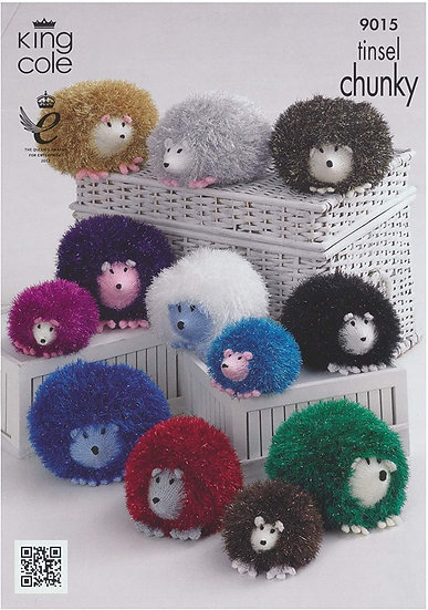 King Cole 9015 Knitted Hedgehog Pattern
