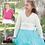 Thumbnail: Hayfield 2490 Childrens Ballet Wrap Cardigan Pattern Double Knit
