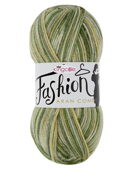 King Cole Fashion Aran Combo 100g
