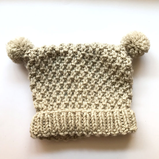 6 - 12 Month Fawn Baby Hat
