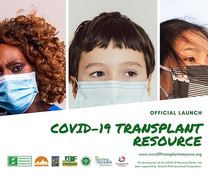 Covid-19 Transplant Resource Facebook Fi