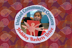 Holiday Baskets Postcard