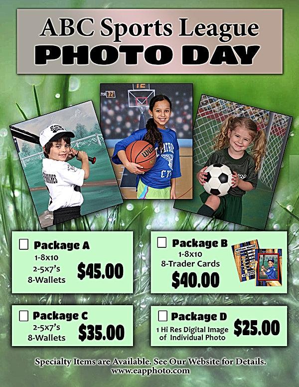 ABC Sports League Price Flyer 2021 Sized