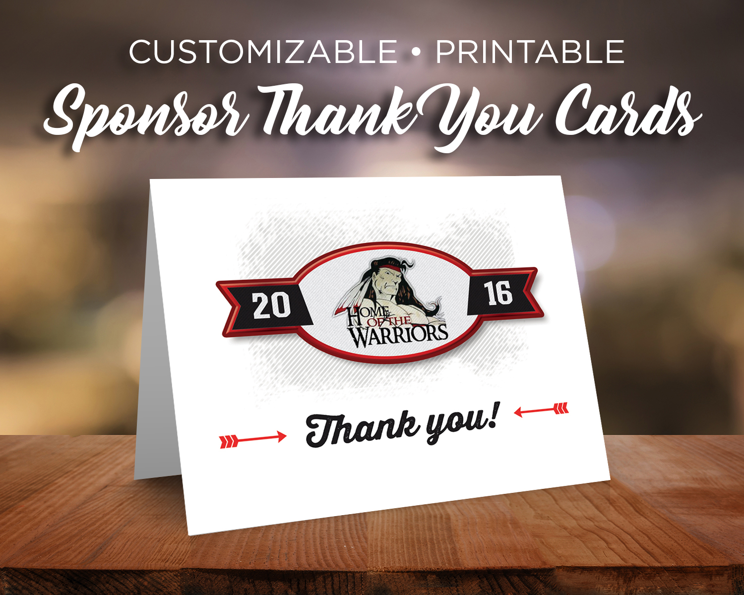 Sponsor Thank You Card