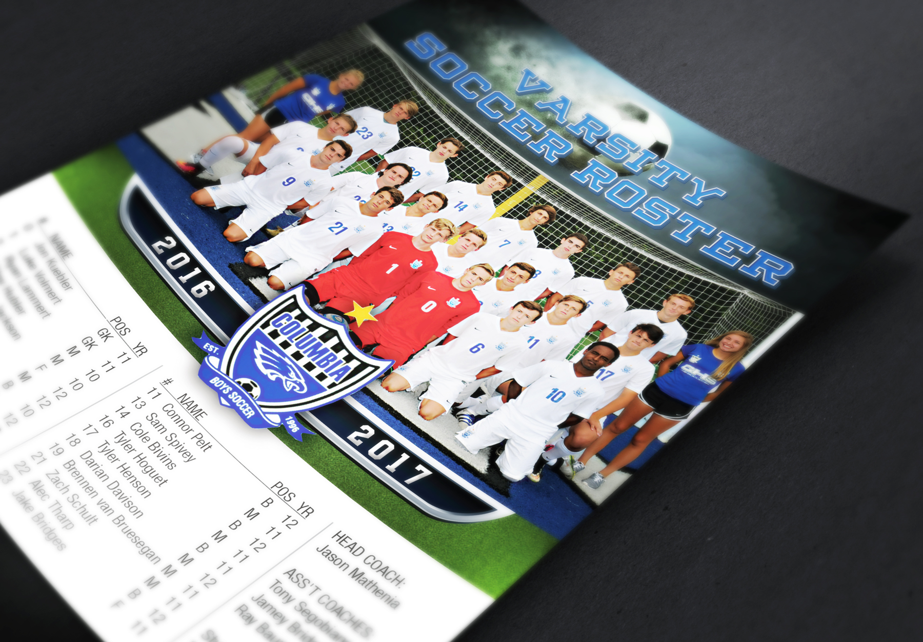 Roster Card