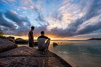 Stunning sunset, Bawaka Cultural Experiences, Bawaka, East Arnhem, Darwin NT