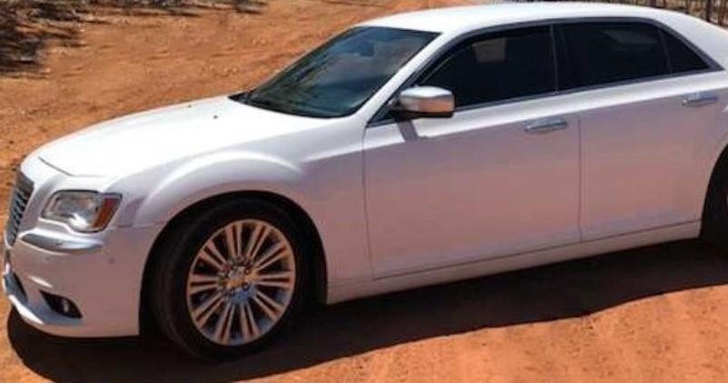 Darwin private hire car goes bush