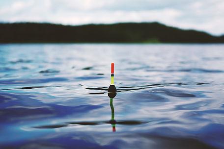 fishing, bobber, lake, water, fish