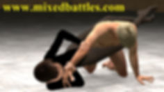 Gymnast leotard pantyhose CFNM erotic mixed wrestling femdom
