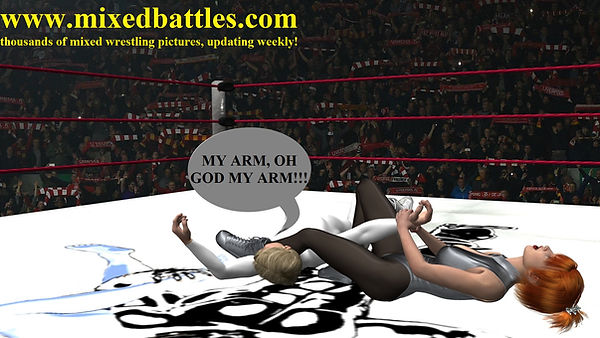 mixed wrestling free photo armbar leotard femdom fighting