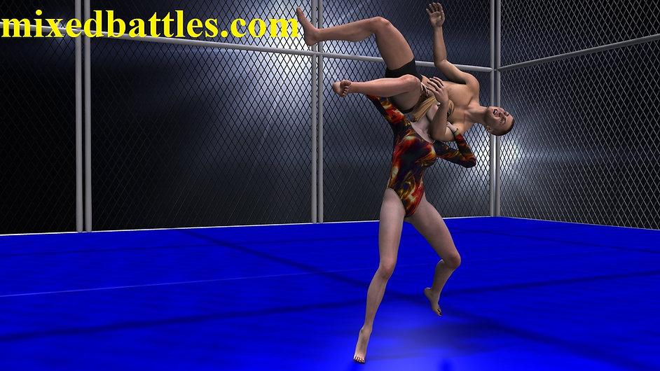 mixed wrestling holds powerslam