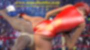 woman vs man kickboxing high cut leotard facebusting femdom fight
