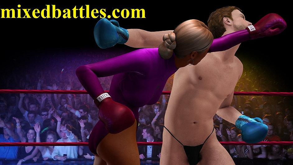 ballerina leotard femdom mixed boxing