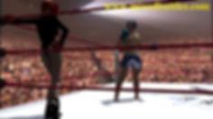 leotard woman vs man boxing match
