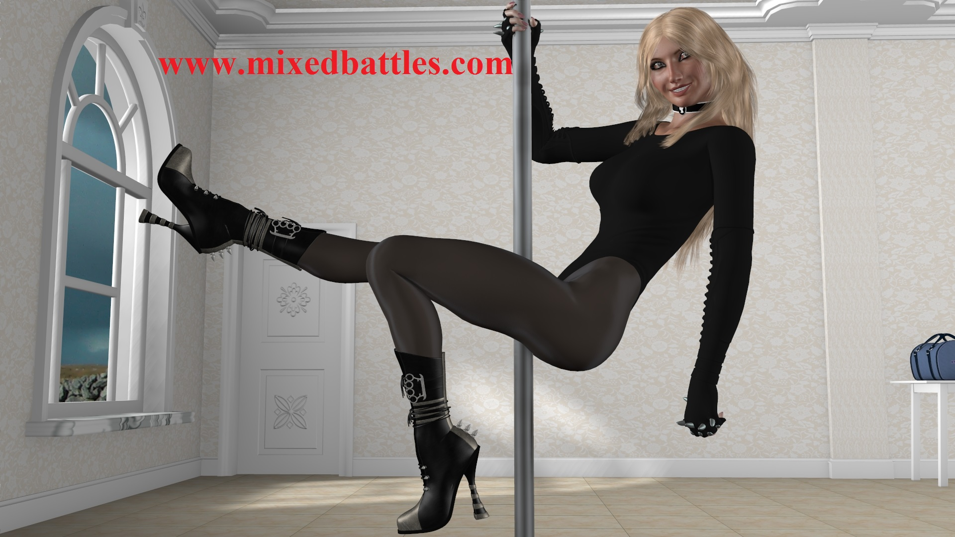deadly pole dancer dominatrix