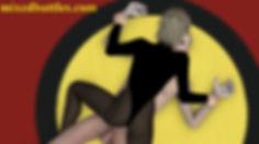 CFNM schoolgirl pin mixed wrestling woman on top