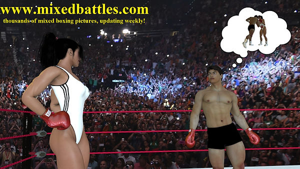 woman vs man boxing free photos leotard muscle femdom fighting