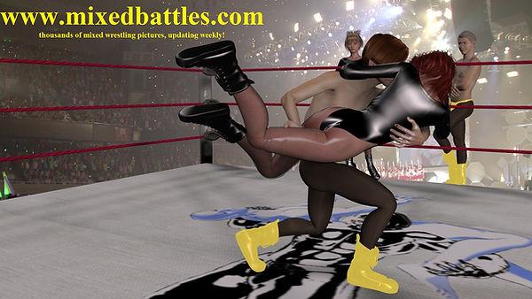 junior pro mixed wrestling tag team championship