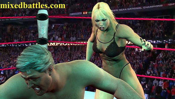 cfnm mixed wrestling leotard muscle powerful amazon goddess lift and carry ballbusting femdom