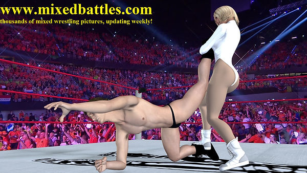 mixed wrestling holds free description leotard femdom submission fight