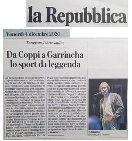 12 04 20 LA REPUBBLICA Da Coppi a Garrin