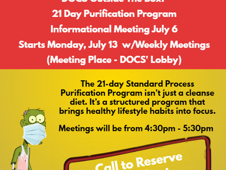 DOCS Post Apocalyptic Purification Begins in July.