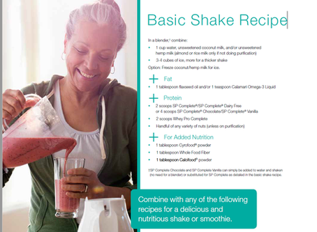 21 Day Purification Program at DOCS Has Begun - Shake Recipes