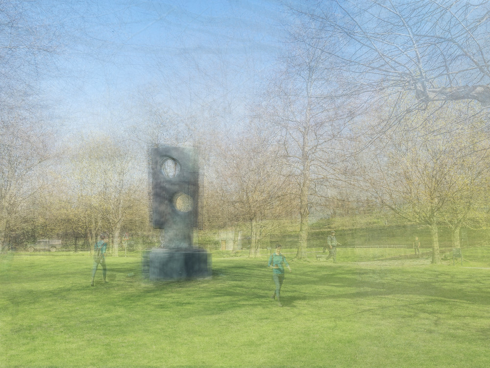 Barbara Hepworth: Square With Two Circles