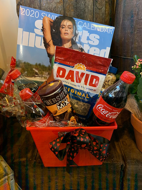 the goodie basket for him