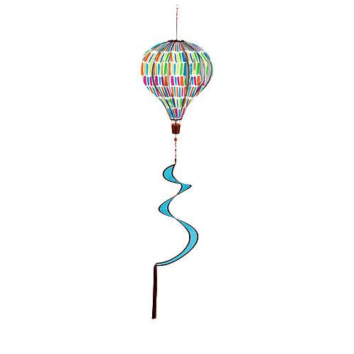 hot air balloon wind spinner