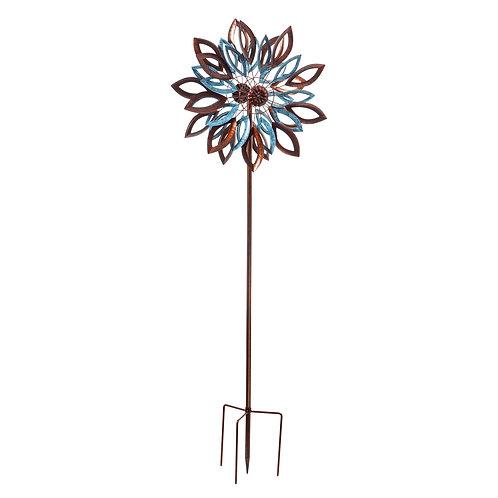 copper teal wind spinner