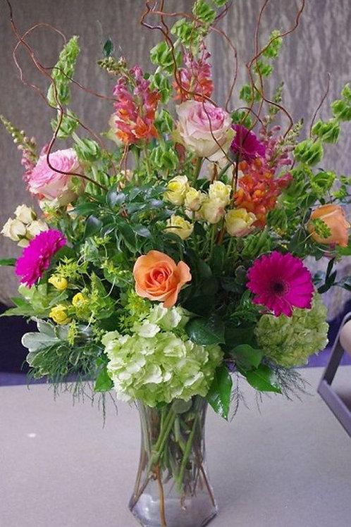 abundant blooming fields