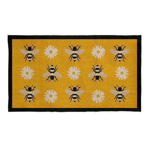 """bumble bee indoor/outdoor rug 24""""x48"""""""