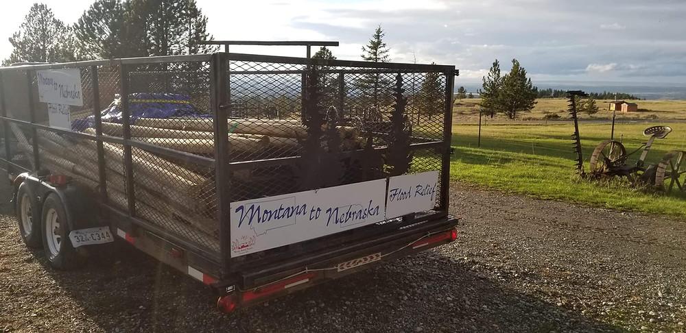 Montana to Nebraska Flood Relief