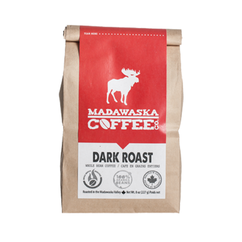 Madawaska Coffee - Dark Roast 1/2 lb Ground