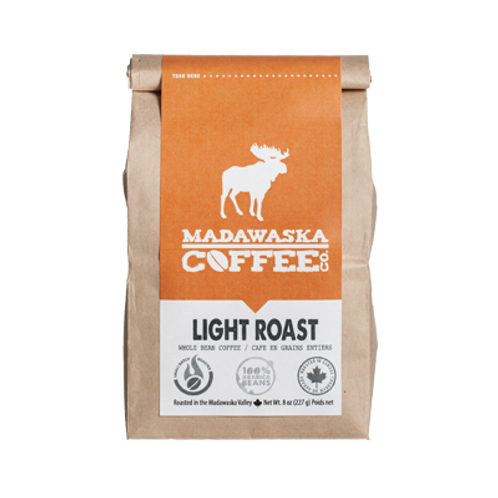 Madawaska Coffee - Light Roast 1/2 lb Ground