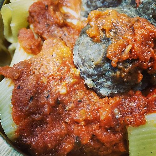 Meatball Marinara with Pasta
