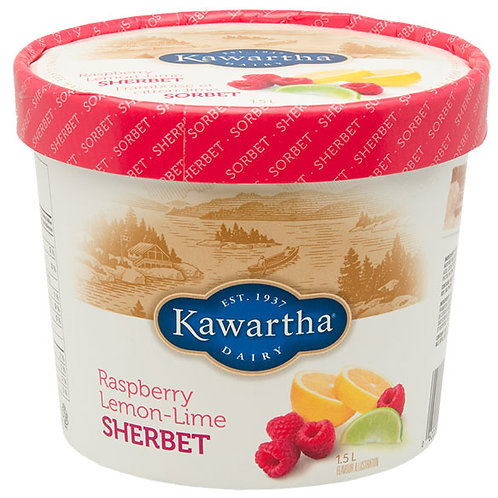 Kawartha - Raspberry Lemon-Lime Sherbet