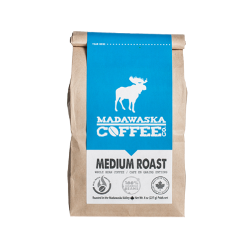 Madawaska Coffee - Medium Roast 1/2 lb Ground