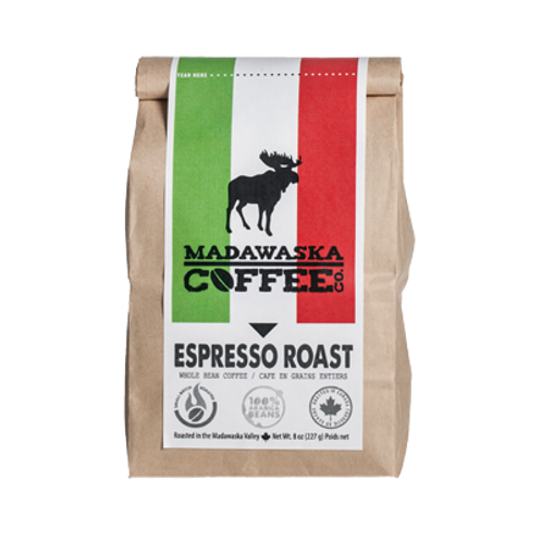 Madawaska Coffee - Espresso Roast 1/2 lb Ground